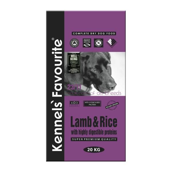 Сухой корм Lamb & Rice для взрослых собак 20 кг
