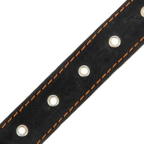 Ошейник кожаный, 71 х 3.6 см