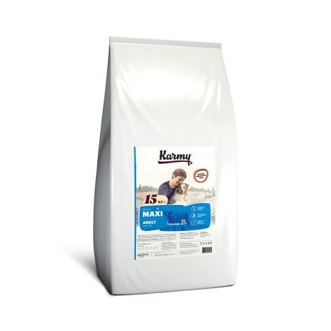 Сухой корм для собак Karmy Maxi Adult Телятина 15кг