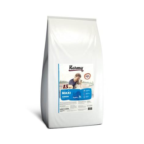 Сухой корм для щенков Karmy Maxi Junior Индейка 15кг