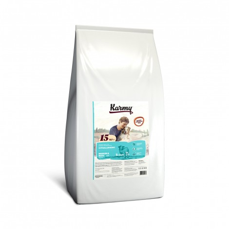 Сухой корм для собак Karmy Hypoallergenic Medium & Maxi Ягненок 15кг