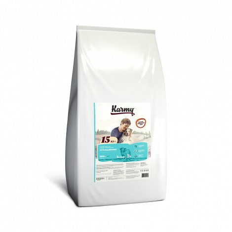 Сухой корм для собак Karmy Hypoallergenic Mini Ягненок 15кг