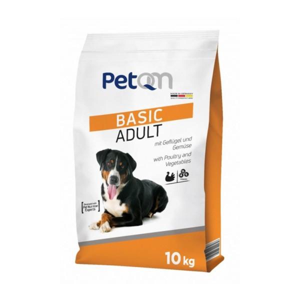 Сухой корм Basic Adult для взрослых собак с курицей и овощами 10кг