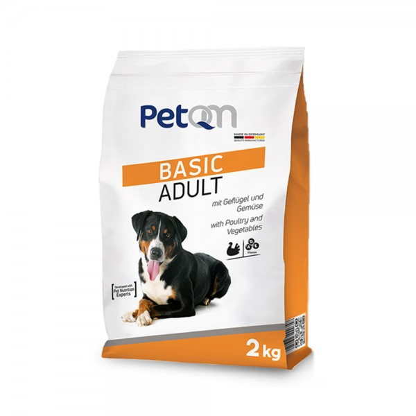 Сухой корм Basic Adult для взрослых собак с курицей и овощами 2кг