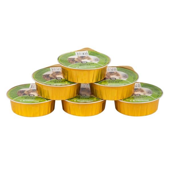 Корм консервированный для кошек с ягненком, 100 г
