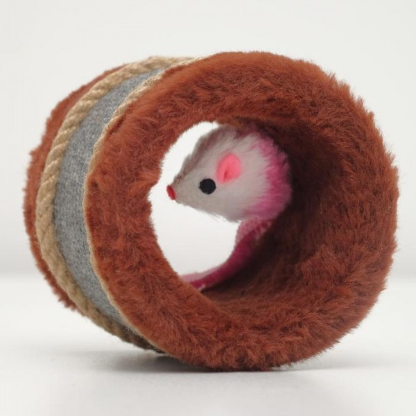 Игрушка-когтеточка с мышкой