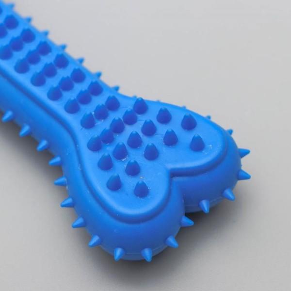 """Жевательная игрушка """"Кость для массажа"""", 10,5 см, микс цветов"""